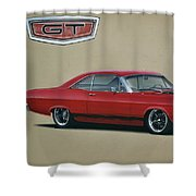 1967 Ford Fairlane Gt Shower Curtain