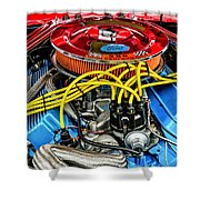 1967 Ford Molly Mustang Shower Curtain