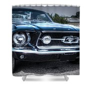 1967 Ford Mustang Shower Curtain