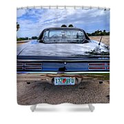 1967 Gto 03 Shower Curtain