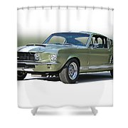 1967 Mustang 'shelby Gt 500' Shower Curtain