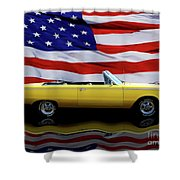 1967 Plymouth Belvedere Tribute Shower Curtain
