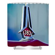 1967 Plymouth Saturn Hood Ornament Shower Curtain