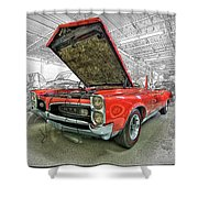 1967 Pontiac Gto American Muscle Car Shower Curtain