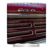 1967 Pontiac Gto Logo Shower Curtain