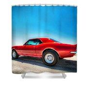 1967 S S Camaro_hdr Shower Curtain