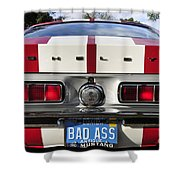 1968 Bad Ass Shelby Mustang Shower Curtain by David Lee Thompson