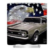 1968 Camaro Ss Tribute Shower Curtain