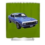 1968 Chevrolet Camaro 327 Muscle Car Shower Curtain