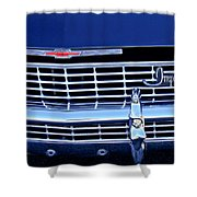 1968 Chevrolet Impala Ss Grille Emblem Shower Curtain