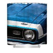 1968 Chevy Camaro Ss 396 Shower Curtain by Gordon Dean II