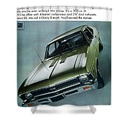 1968 Chevy Nova Ss Shower Curtain
