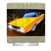 1968 Dodge Charger Coupe Shower Curtain