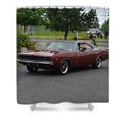 1968 Dodge Charger Grow Shower Curtain