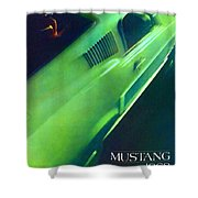 1968 Ford Mustang Shower Curtain