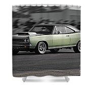 1968 Plymouth Satellite Shower Curtain