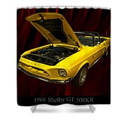 1968 Shelby Gt 500kr Shower Curtain
