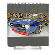 1968 Trans-am Chevy Camaro Shower Curtain