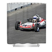 1968 Zink Formula Vee Shower Curtain