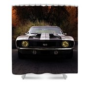 1969 Camaro Ss Shower Curtain
