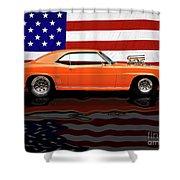 1969 Camaro Tribute Shower Curtain