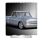 1969 Chevrolet C10 Pickup 'studio' 2 Shower Curtain
