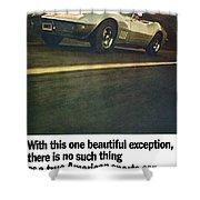 1969 Chevrolet Corvette Shower Curtain