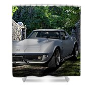 1969 Corvette Lt1 Coupe I Shower Curtain