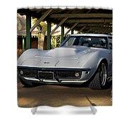 1969 Corvette Lt1 Coupe II Shower Curtain