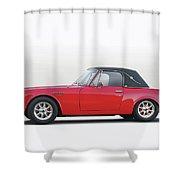 1969 Datsun 2000 Roadster I Shower Curtain