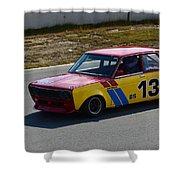 1969 Datsun 510 Shower Curtain