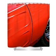 1969 Dodge Charger Rt Shower Curtain by Gordon Dean II