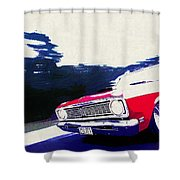 1969 Ford Falcon Futura Shower Curtain