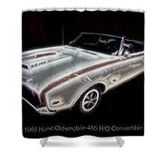 1969 Hurst Oldsmobile 455 Ho Electric Shower Curtain