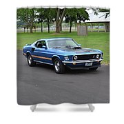 1969 Mach I Garland Shower Curtain
