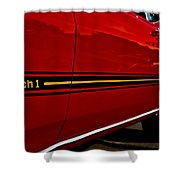 1969 Mustang Mach I Shower Curtain