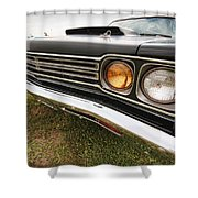 1969 Plymouth Road Runner 440-6 Shower Curtain