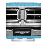 1969 Pontiac Gto  Shower Curtain