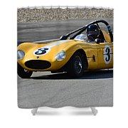 Vintage Racer Shower Curtain