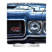 1970 Buick Gs 455 Shower Curtain by Gordon Dean II