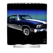 1970 Chevelle Ss Shower Curtain