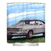 1970 Dodge Challenger Shower Curtain