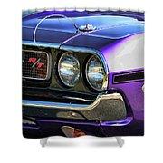1970 Dodge Challenger Rt 440 Magnum Shower Curtain