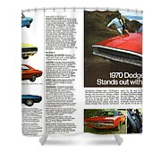1970 Dodge Charger Shower Curtain