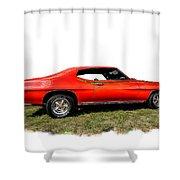 1970 Fake Gto_lemans Shower Curtain