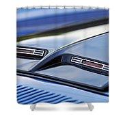 1970 Ford Mustang Gt Mach 1 Hood Shower Curtain