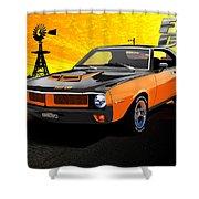 1970 Javelin Shower Curtain