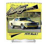 1970 Mach 1 Fellers Shower Curtain