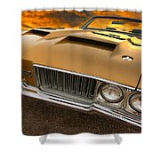 1970 Oldsmobile 442 W-30 Shower Curtain