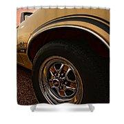 1970 Oldsmobile Cutlass 4-4-2 W-30  Shower Curtain by Gordon Dean II